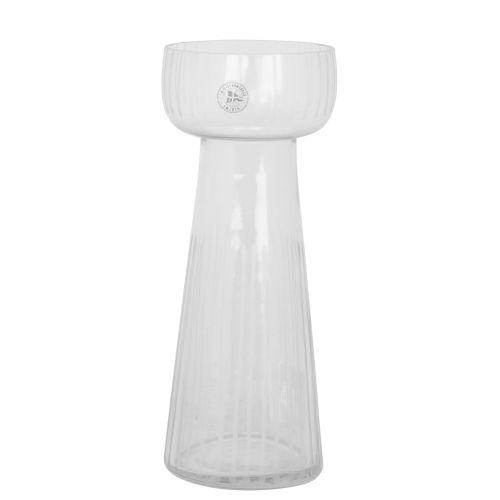 Strömshaga / Sklenená váza Etched Stripe Large