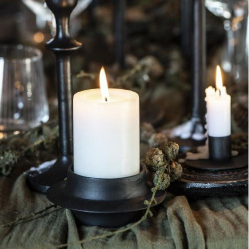 IB LAURSEN / Kovový svietnik na vysokú sviečku 5 cm