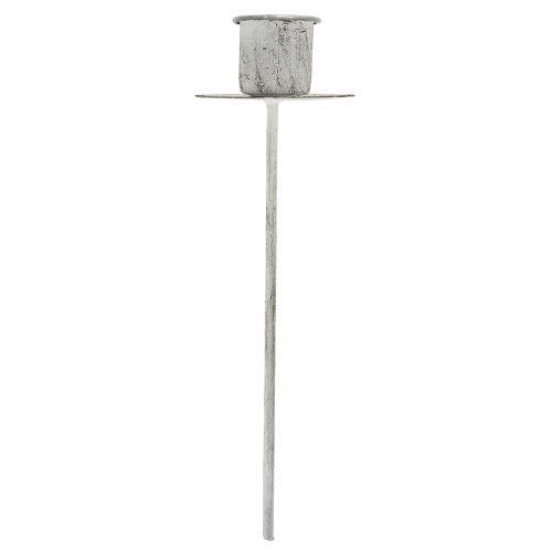 IB LAURSEN / Zapichovací svietnik na klasickú sviečku White