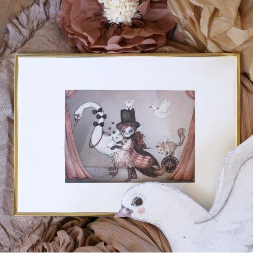 MRS. MIGHETTO / Obrázok Miss Lucy Mini 18 x 24 cm