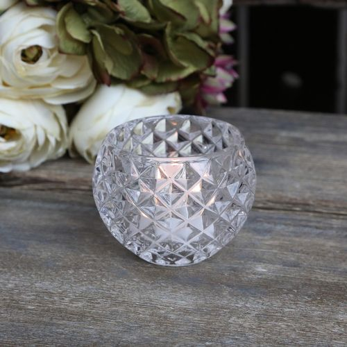 Chic Antique / Svícen Tealight Clear