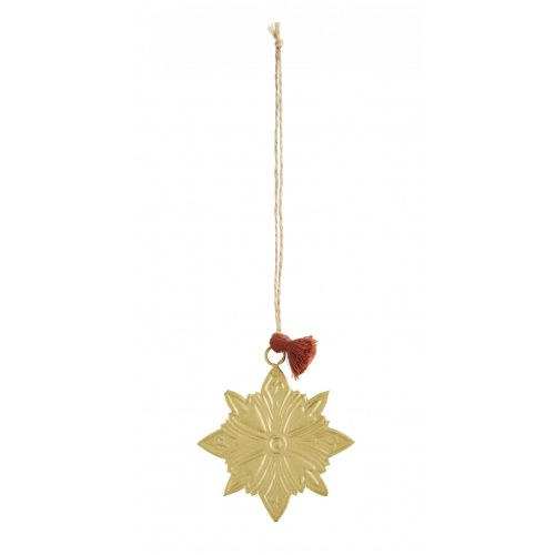 MADAM STOLTZ / Vianočná ozdoba Antique Brass Star