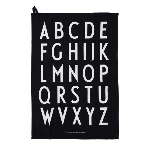 DESIGN LETTERS / Bavlnená utierka Design Letters - set 2ks