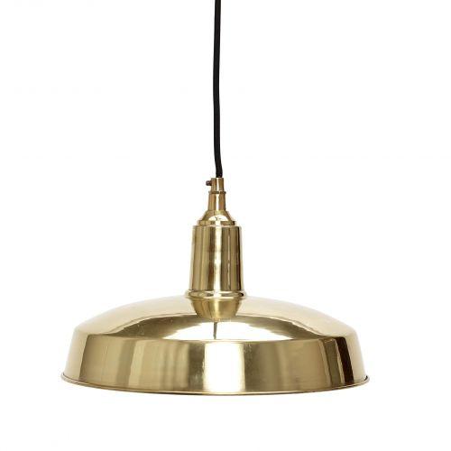 Hübsch / Závesná lampa Gold Black