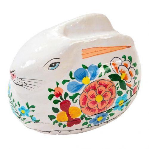 Talking Tables / Veľkonočná krabička na vajíčko Bunny Papier Mâché