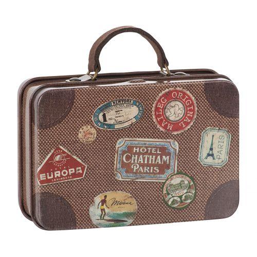 Maileg / Plechový kufrík Travel Brown