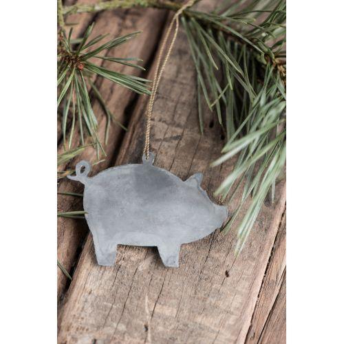 IB LAURSEN / Kovová ozdoba Pig