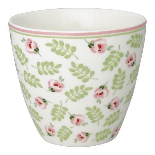 GREEN GATE / Latte cup Lily Petit White