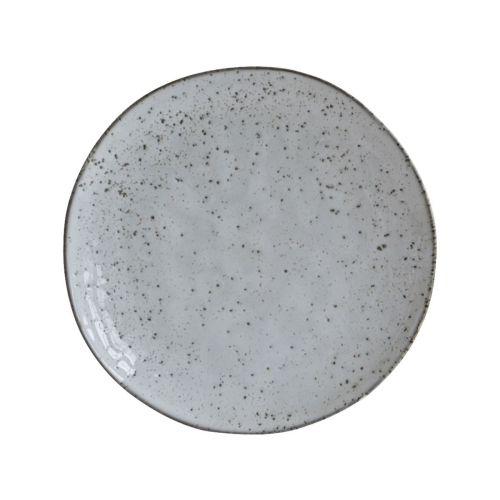 House Doctor / Keramický dezertný tanier Rustic Grey 20cm