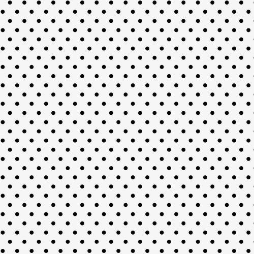 IB LAURSEN / Papierové obrúsky Black Dots 50 ks