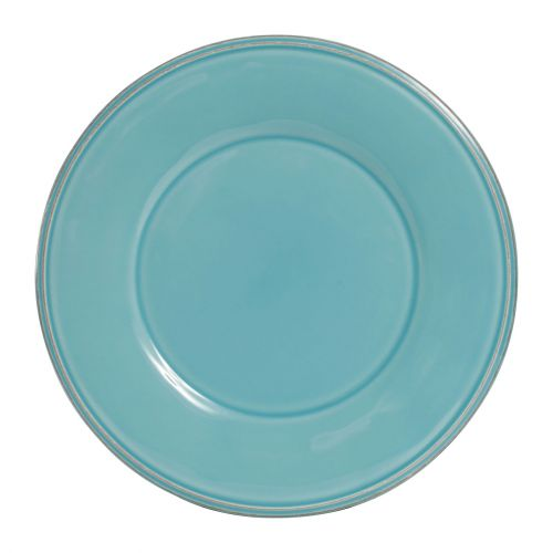 CÔTÉ TABLE / Dezertní talíř Constance Turquoise 23,5 cm