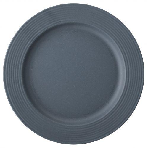 Bloomingville / Bambusový tanier Java Blue 26 cm