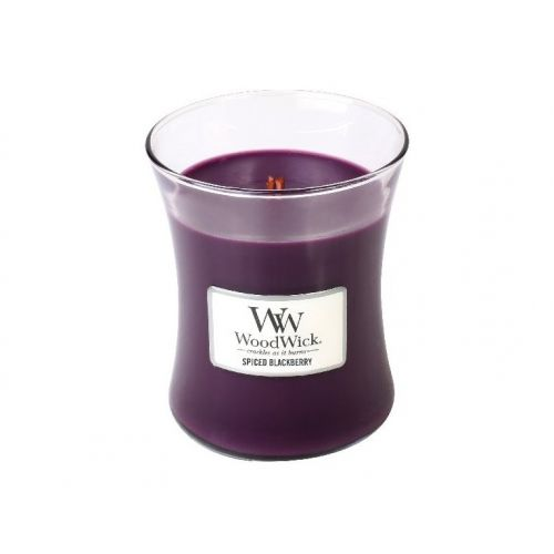 WoodWick / Vonná sviečka WoodWick - Spiced Blackberry 85g