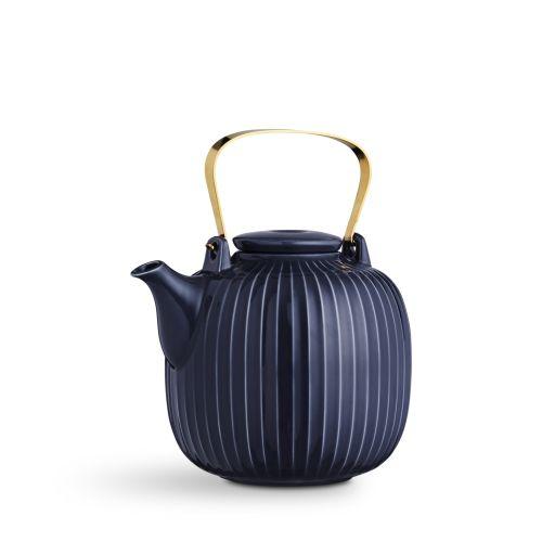 KÄHLER / Porcelánová čajová konvica Hammershøi Indigo