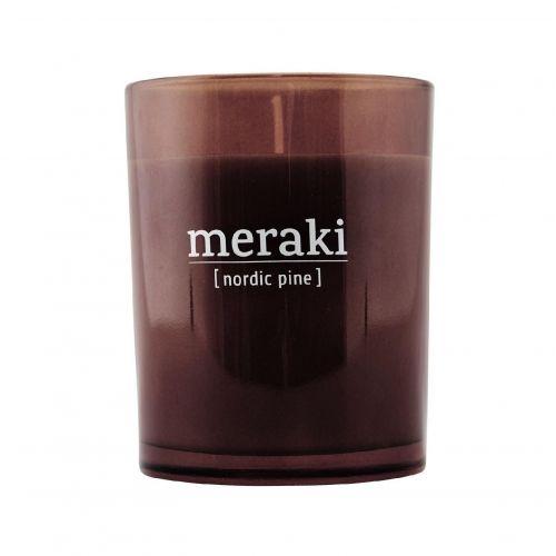meraki / Vonná sviečka Nordic Pine - 10,5 cm