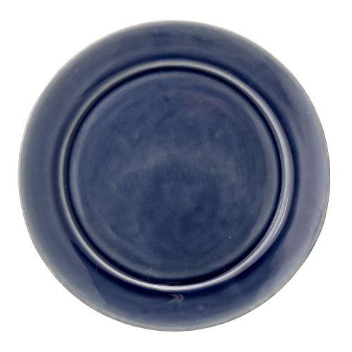 Bloomingville / Keramický obedový tanier Anne Blue
