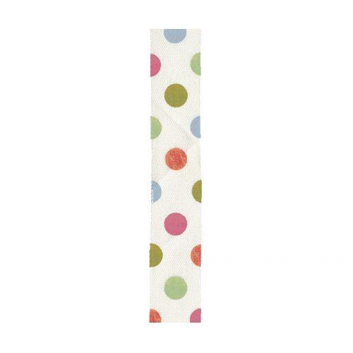 Maileg / Bavlnená stuha Multi dot