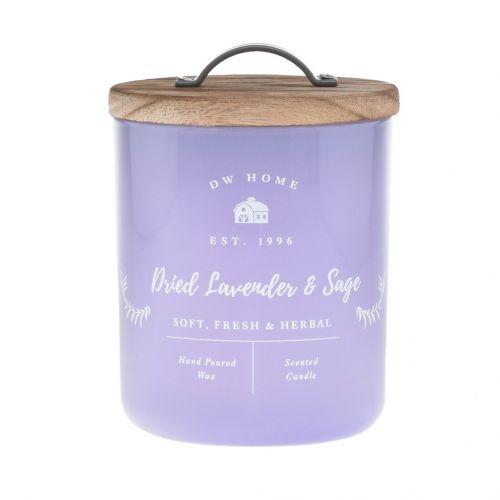 dw HOME / Vonná sviečka Dried Lavender & Sage 240g