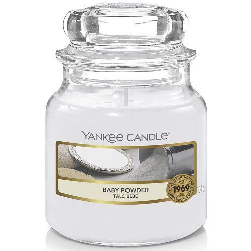 Yankee Candle / Sviečka Yankee Candle 104gr - Baby Powder