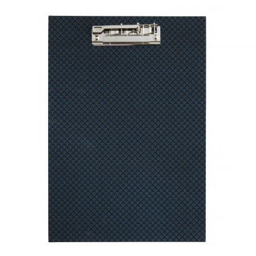 MADAM STOLTZ / Tabuľka so štipcom Clipboard Blue/Black