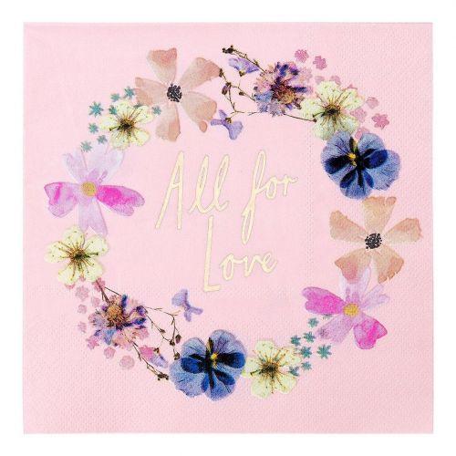 Talking Tables / Papierové obrúsky Blossom Bride