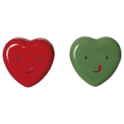 Maileg / Plechová krabička - usměvavé srdíčko