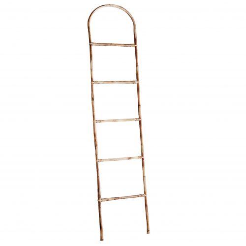 MADAM STOLTZ / Bambusový rebrík Natural