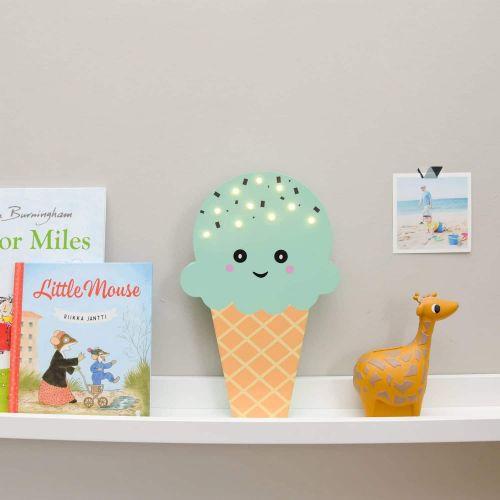 Smiling Faces / Svietiaca LED zmrzlina Mint