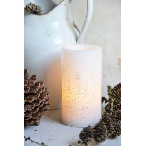 Jeanne d'Arc Living / Vosková sviečka s LED žiarovkou