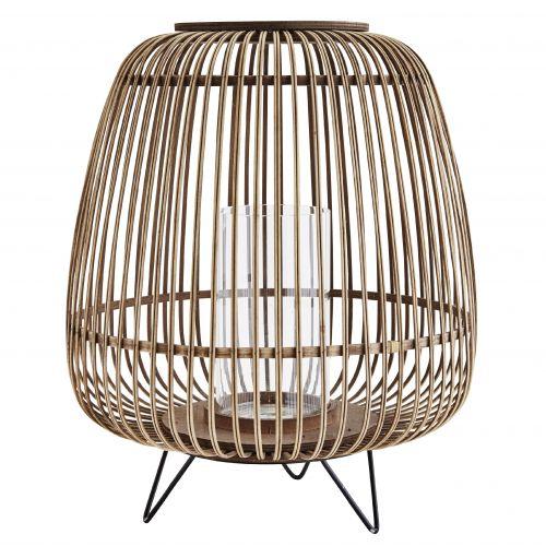 MADAM STOLTZ / Maxi bambusová lucerna Natural