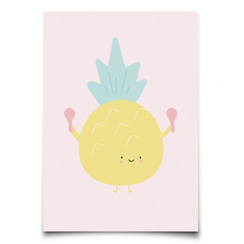EEF lillemor / Pohľadnica Aloha Pineapple A6