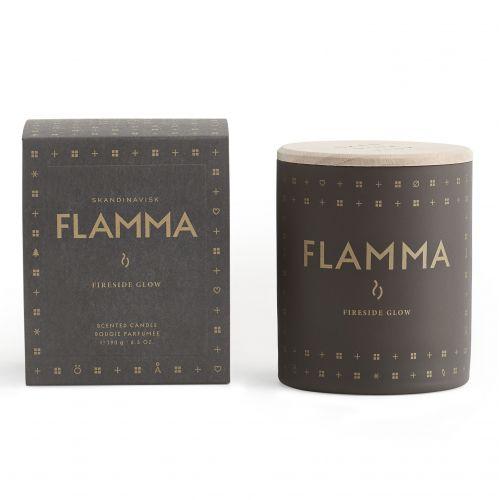 SKANDINAVISK / Vonná sviečka FLAMMA (plameň) 190 g