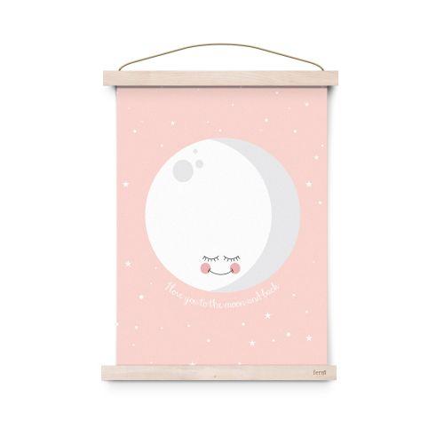 EEF lillemor / Plagát Pink Moon A3