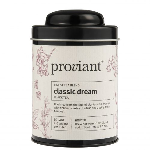 Proviant / Čierny čaj v dóze Classic Dream 100 g