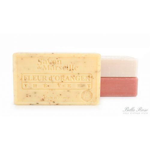 LE CHATELARD / Marseillské mydlo 100 g - kvet pomaranča a zelený čaj
