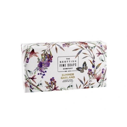 SCOTTISH FINE SOAPS / Jemné mýdlo Summer Garland 220g