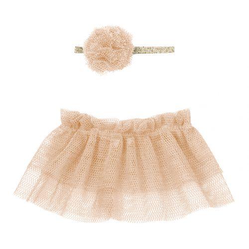 Maileg / Oblečenie Mini pre myšky Tutu & Hairband Rose