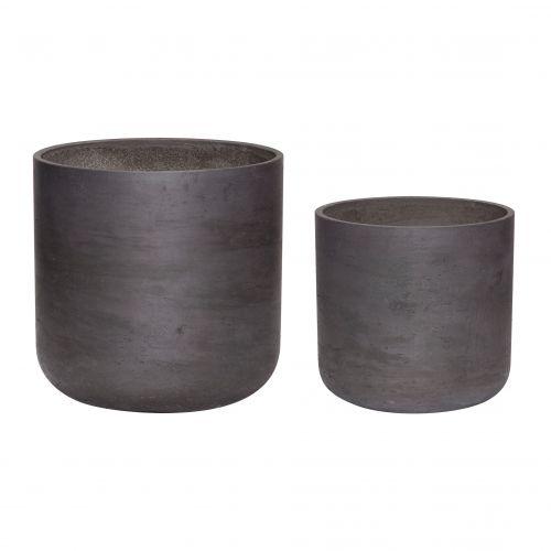 Hübsch / Kvetináč Black Cement