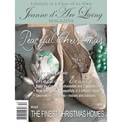 Jeanne d'Arc Living / Časopis Jeanne d'Arc Living 12/2016 - anglická verze