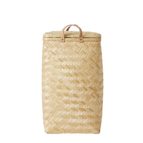 OYOY / Bambusový košík Natural 55,5x34cm