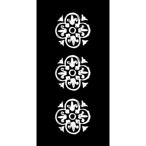 IB LAURSEN / Papírové ubrousky White pattern
