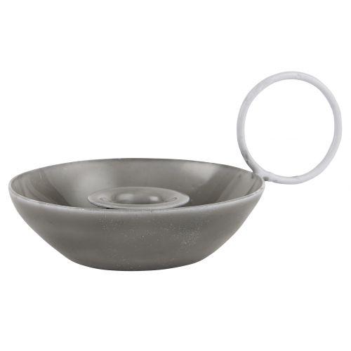 IB LAURSEN / Kovový svietnik Grey Iron
