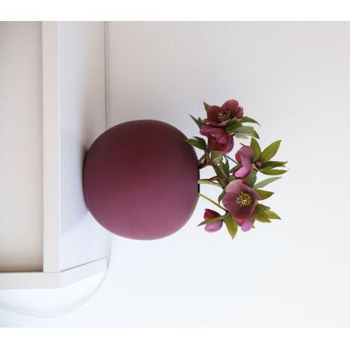 COOEE Design / Guľatá váza Ball Plum 20cm