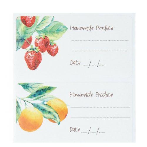Kitchen Craft / Nalepovacie štítky na zaváraniny Preserve - 100ks