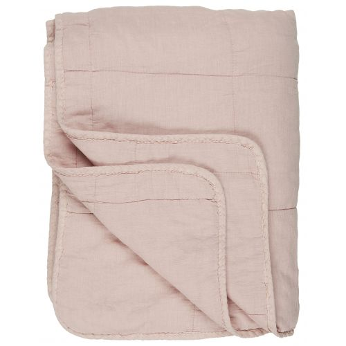 IB LAURSEN / Prešívaný prehoz Light Pink 130x180