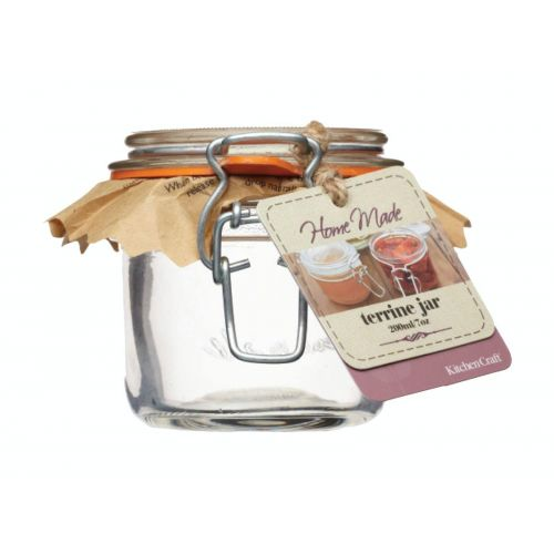 Kitchen Craft / Zavárací pohár s klipsom 200ml