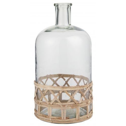 IB LAURSEN / Sklenená váza Bamboo Braid