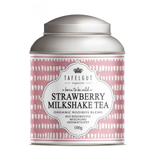 TAFELGUT / BIO rooibos čaj Strawberry Milkshake Tea - 100gr