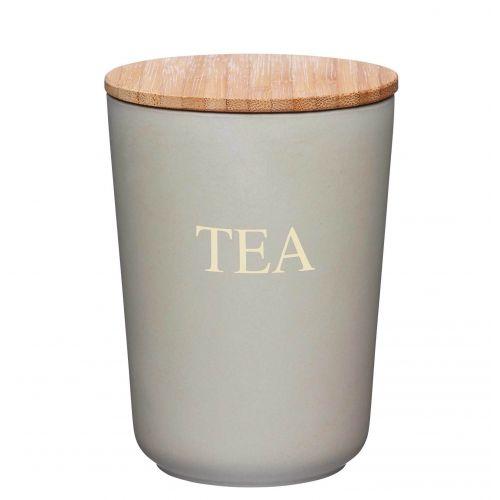 Kitchen Craft / Bambusová dóza na čaj Grey