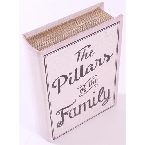 La finesse / Drevená kniha s úložným priestorom The Pillars